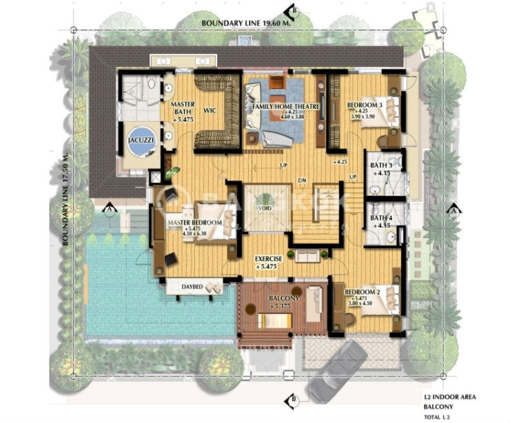 Rent L Amp H Villa Sathorn Detached 4 Bed Villa With Private