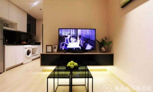 Sky Walk Condominium Modern High Floor 1 Bed at Phra Khanong BTS to Rent