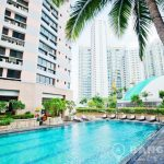 President Park Sukhumvit 24 High Floor Spacious 3 Bed 3 Bath to rent
