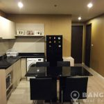 Rhythm Sathorn Narathiwas Corner 2 Bed 2 Bath with River View to rent