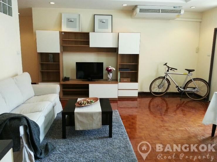 Very Spacious 1 Bed 1 bath Sukhumvit Apartment near EmQuartier to rent