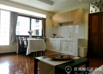 Very Spacious 1 Bed 1 bath Sukhumvit Apartment near EmQuartier to rent