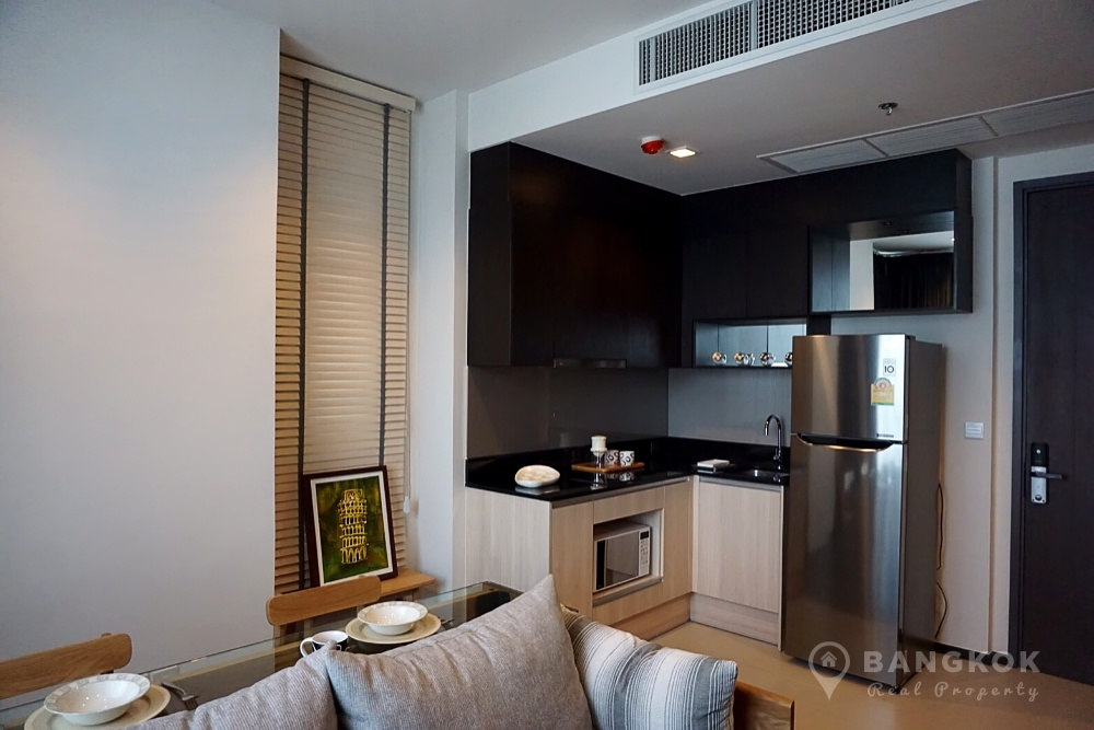 Edge Sukhumvit 23 Brand New 1st Rental 1 Bed walk to Asok BTS