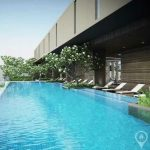 The Lofts Ekkamai 1st Rental High Floor Spacious 1 Bed 1 Bath near BTS