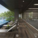 The Lofts Ekkamai 1st Rental High Floor Spacious 1 Bed 1 Bath near BTS