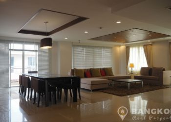 The Rise Sukhumvit 39 Stunning Renovated 3 Bed plus Study, 4 Bath Penthouse for sale