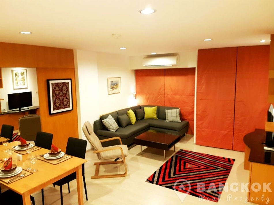 Green Point Silom Elegant Modern High Floor 2 Bed 2 Bath to rent