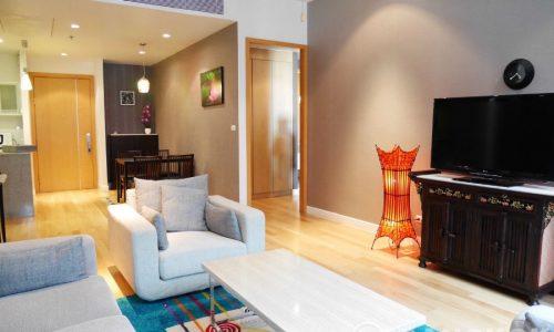 Millennium Residence Bangkok Spacious High Floor Condo 2 Bed 2 Bath to rent