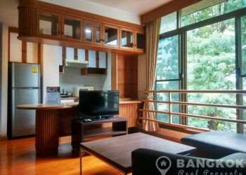 Very Spacious 1 Bed 1 Bath Apartment in Asoke near MRT to rent