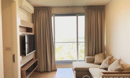 Rhythm Sukhumvit 50 Modern High Floor 1 Bed next to On Nut BTS to rent
