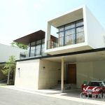 Contemporary 4 Bed 5 Bath Phrom Phong House with Private Pool to rent