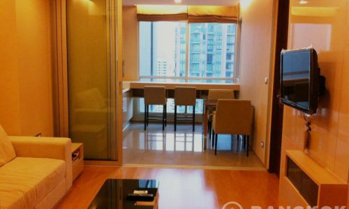 The Address Asoke Modern High Floor 1 Bed 1 Bath near MRT for Sale