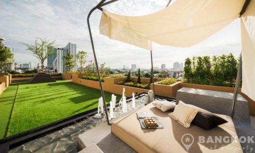 Maestro 39 Modern 2 Bed 2 Bath with Garden near BTS for Sale