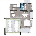 Aqua Divina by Sammakorn Detached Modern 3 Bed 3 Bath House to Rent