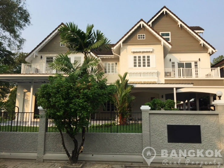Laddawan Srinakarin Detached 4 Bed 5 Bath House near Bangkok Patana to Rent