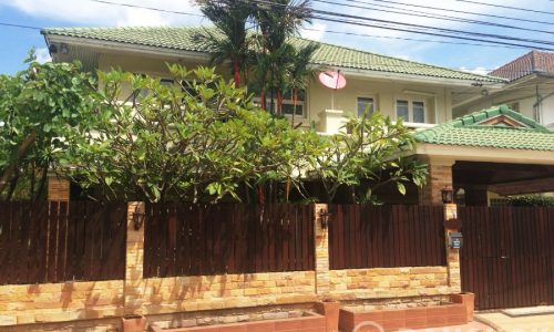 Perfect Place Ramkhamhaeng 164 Detached 3+1 Bed 3 Bath House to rent
