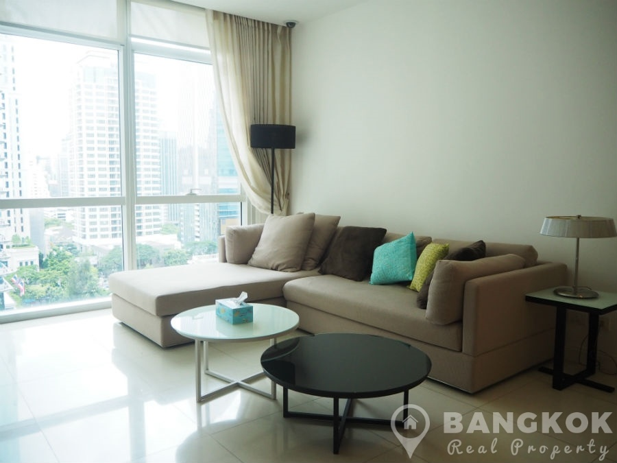 Athenee Residence Spacious Modern 2 Bed 2 Bath with Great City Views to Rent