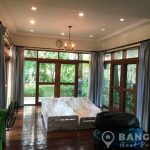 Spacious Detached 4 Bed 4 Bath Sathorn House with Garden to Rent