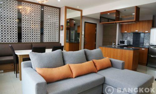 Villa Sathorn Spacious Modern 2 Bed 2 Bath near BTS to Rent