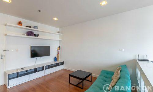 RENT Condo One X Sukhumvit 26 Renovated High Floor Studio near BTS