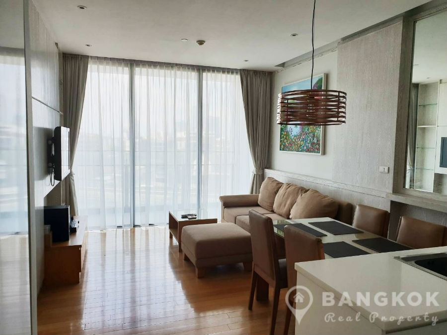 Aequa Sukhumvit 49 Superb Spacious 1 Bed 1 Bath in Thonglor to Rent