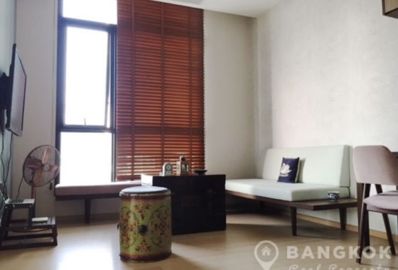 The Capital Ekamai - Thonglor Modern 1 Bed with Study to Rent
