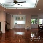 Detached Phrom Phong House with 3 Beds in Secure Compound to Rent