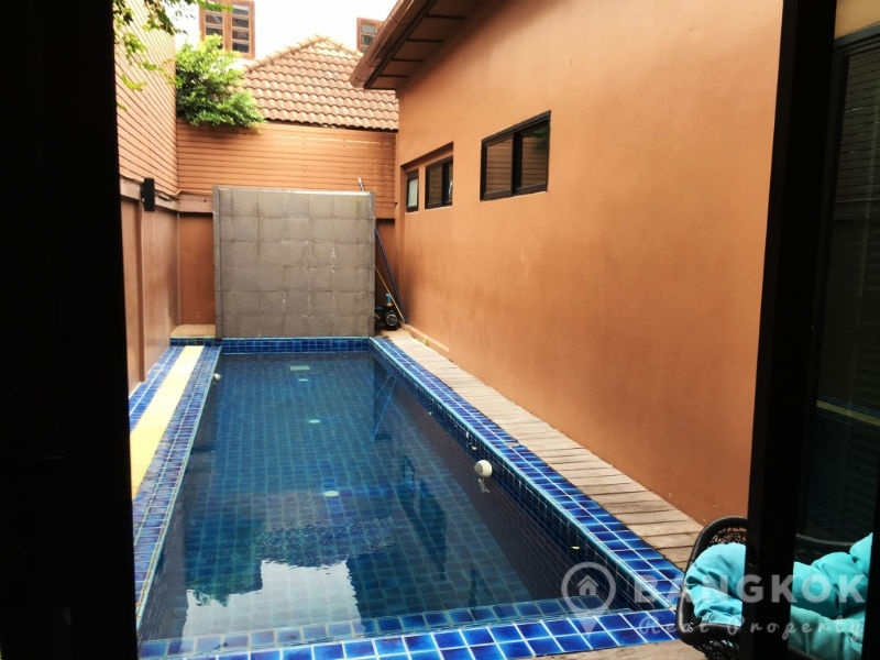 Renovated 4 Bed 4 Bath Thonglor House with Private Pool to Rent
