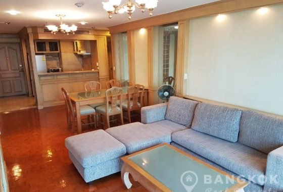 Sukhumvit Suite Very Spacious High Floor 1 Bed near BTS to Rent