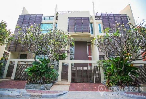 The Lofts Sathorn Unique Loft Style 4 Bed 4 Bath Townhouse for Sale