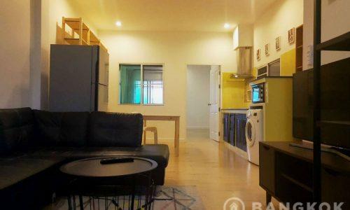 Sammakorn Apartment Spacious 1 Bed plus Study 2 Bath in Sammakorn Village to Rent