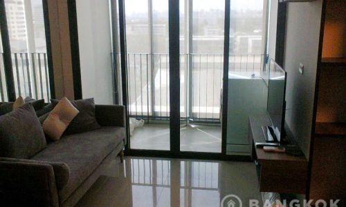 IDEO Blucove Sukhumvit Stylish 1 bed 1 study 1 bath 44 sq.m near Udomsuk BTS to Rent
