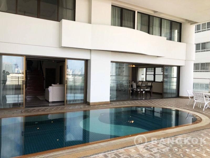 RENT Le Raffine Sukhumvit 24 | Duplex 3 +1 Bed with Private Pool