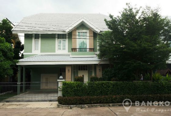 Milton Residence Ramintra Spacious Detached 3 Bed 4 Bath House for Sale