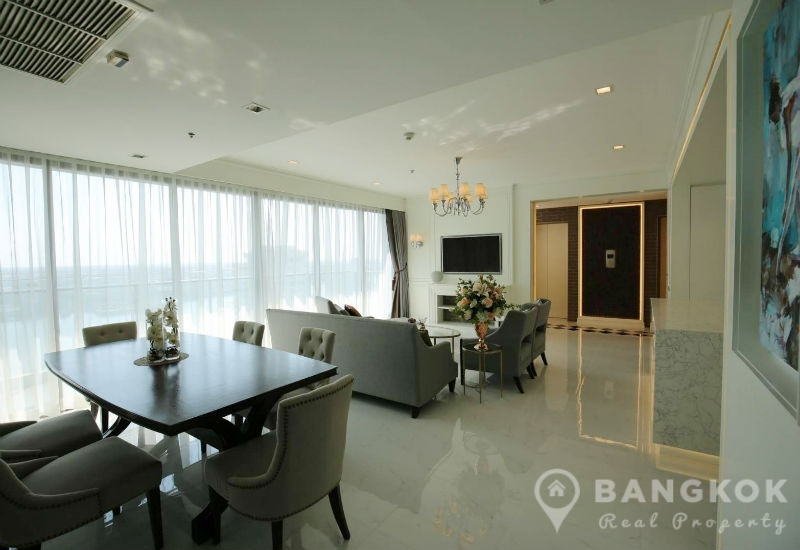StarView Condominium Stunning spacious 3 Bed 3 Bath 160 sq.m with Chao Phraya River Views to Rent