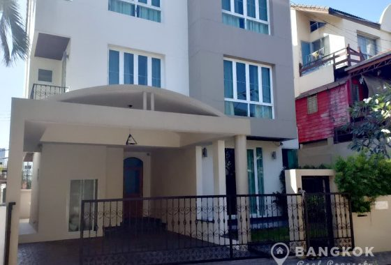 Modern Detached 4 Bed 4 bath Sukhumvit 71 House in compound for sale