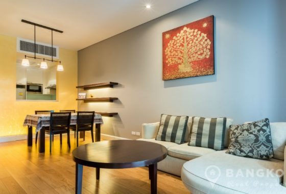 Vincente Sukhumvit 49 Stylish Spacious 1 Bed 1 Bath 65 sq.m in Phrom Phong to Rent