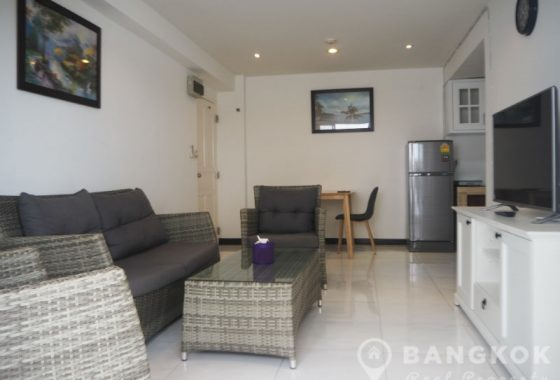 Sammakorn Condo Ramkhamhaeng Spacious Modern 2 Bed 1 Bath to rent