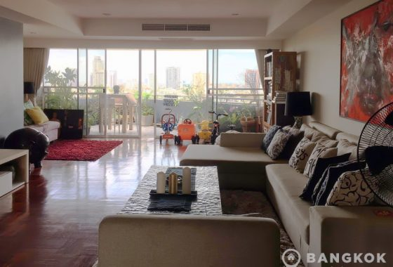 La Cascade Superb Spacious 3 Bed 4 bath condo 315 sq.m with Terrace to rent