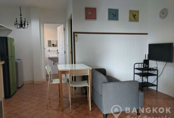 Modern 2 bed 1 bath Apartment in Sammakorn Village Ramkhamhaeng to Rent (
