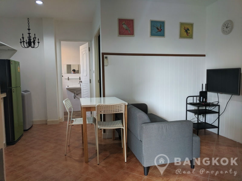 Modern 2 bed 1 bath Apartment in Sammakorn Village Ramkhamhaeng to Rent (