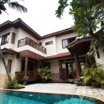 RENT Modern Colonial Style 4 Bed 5 Bath Thonglor House with Private Swimming Pool