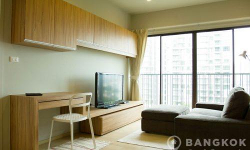 RENT Noble Refine Sukhumvit 26 Spacious Modern Corner 1 Bed 1 Bath near EmQuartier