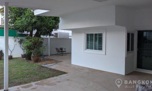 RENT Sammakorn Village Detached 3 Bed 3 Bath House with Garden