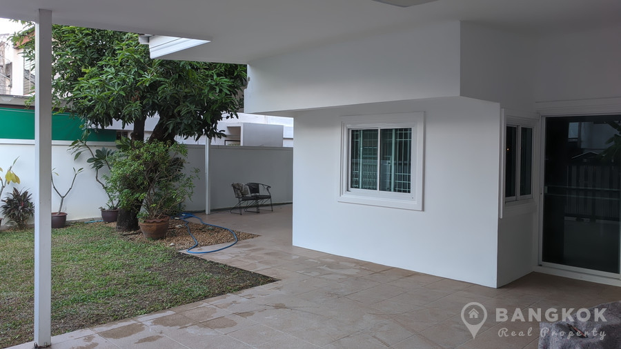 RENT Sammakorn Village Detached 3 Bed 3 Bath House with Garden