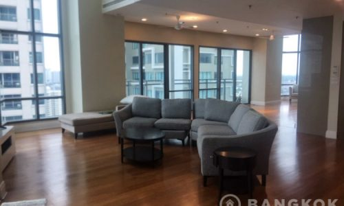 RENT Bright Sukhumvit 24 Unique Spacious Modern 6 Bed 6 Bath 1 Maid Duplex near EmQuartier