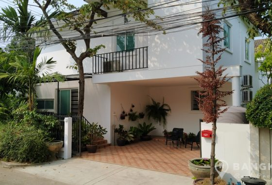RENT Sammakorn Village Newly Built Detached 4 Bed 2 Bath House in Ramkhamhaeng
