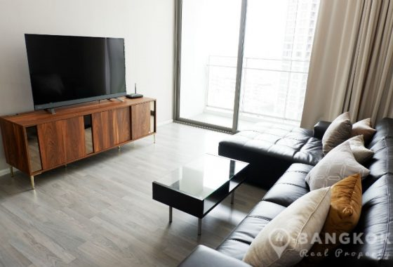 RENT The Room Sukhumvit 69 Spacious Modern Corner 2 Bed 2 Bath near Phra Khanong BTS