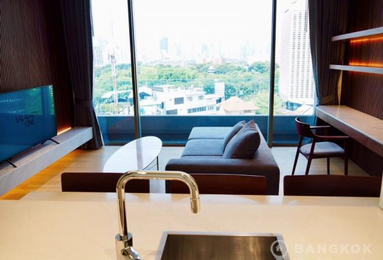 RENT Saladaeng One Silom Spacious 1 Bed 1 Bath with Lumphini Park View
