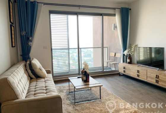 RENT The Lofts Ekkamai Modern Spacious High Floor 1 Bed 1 Bath Condo near Ekkamai BTS